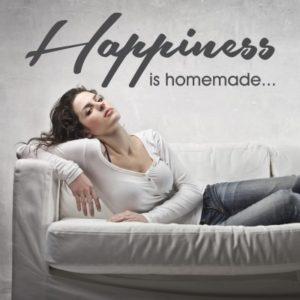 Adesivo Murale Happiness