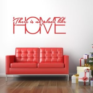 Adesivo Murale No Place Like Home