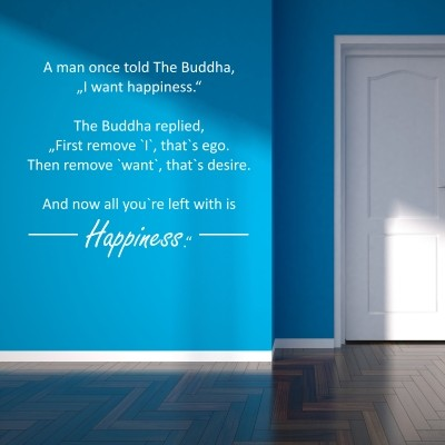 Adesivo Murale Happiness The Buddha