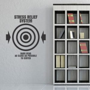 Adesivo Murale Stress Relief System