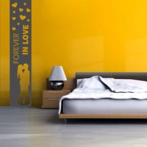 Adesivo Murale Forever In Love