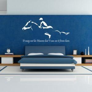 Adesivo Murale Heaven Konj