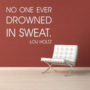 Adesivo Murale Drowned Lou Holtz