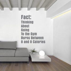 Adesivo Murale Fact