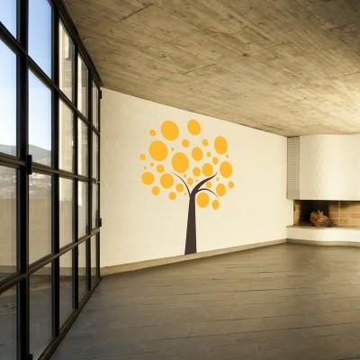 Adesivo Murale Albero Design