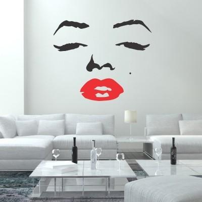 Adesivo Murale Marilyn Monroe Viso