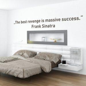Adesivo Murale Success Frank Sinatra
