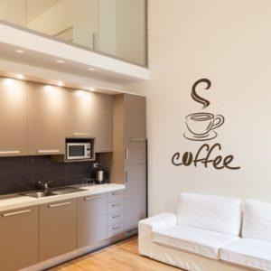 Adesivo Murale Coffee Break