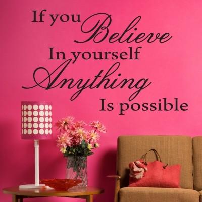Adesivo Murale Believe in Yourself