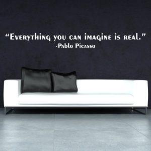 Adesivo Murale Pablo Picasso Imagine