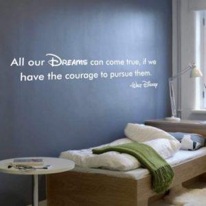 Adesivo Murale Walt Disney Dreams
