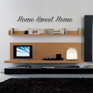 Adesivo Murale Home Sweet Home (2)