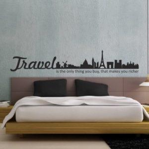 Adesivo Murale Travel