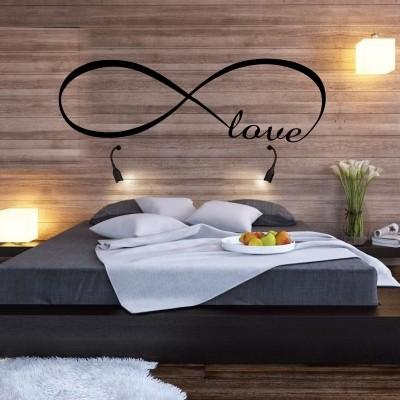 Adesivo Murale Amore Infinito