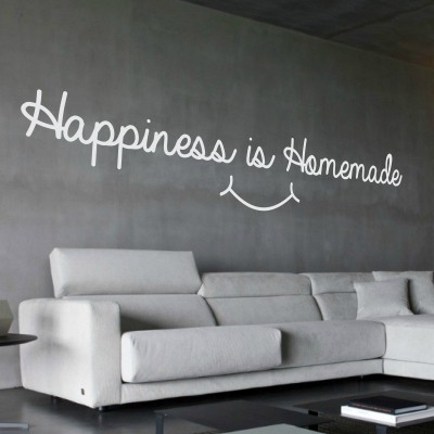 Adesivo Murale Happiness Is Homemade
