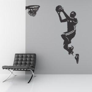 Adesivo Murale Cestista