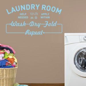Adesivo Murale Laundry Room