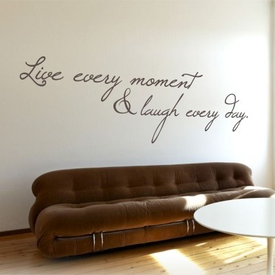 Adesivo Murale Live Every Moment