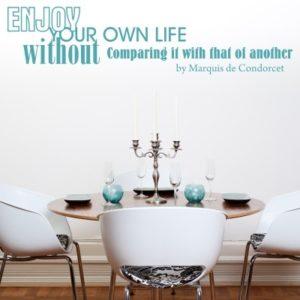 Adesivo Murale Enjoy Your Life