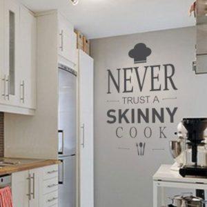 Adesivo Murale Skinny Cook