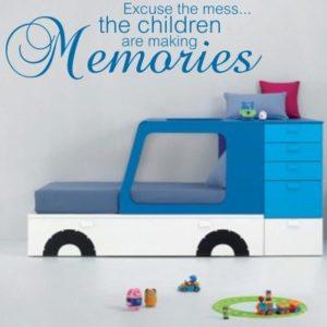 Adesivo Murale Children making memories