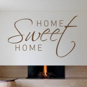 Adesivo Murale Home Sweet Home (3)
