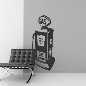 Adesivo Murale Gas