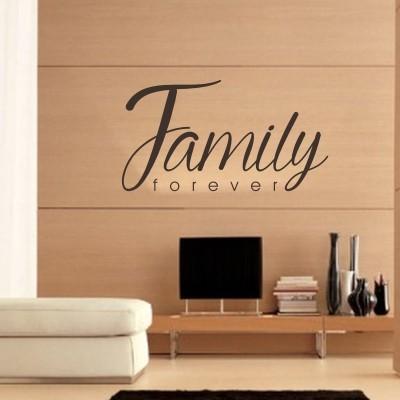 Adesivo Murale Family Forever
