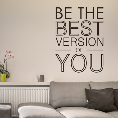 Adesivo Murale Be the Best Version of You