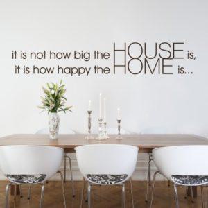 Adesivo Murale House Home