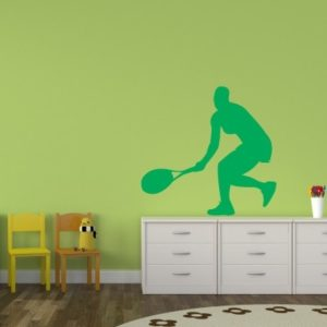 Adesivo Murale Tennista