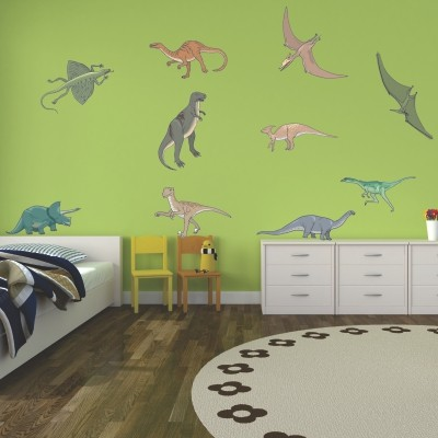 Adesivo Murale Dinosauri