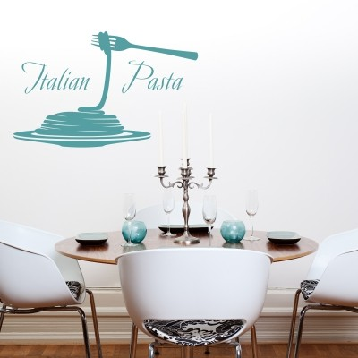 Adesivo Murale Italian Pasta