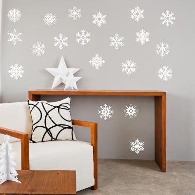 Adesivo murale Fiocchi di Neve
