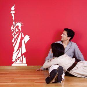 Adesivo Murale La Statua della Libertà NY