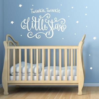 Adesivo murale Little star