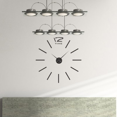 Adesivo Murale Orologio Moderno