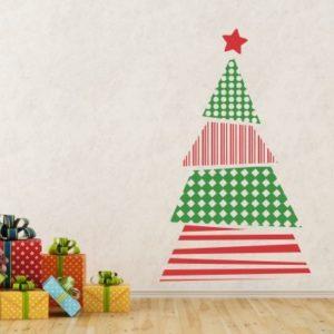 Adesivo Murale Albero Natale