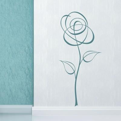 Adesivo Murale Rosa Classica