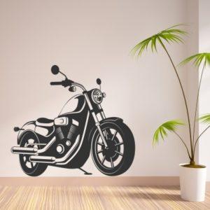 Adesivo Murale Moto