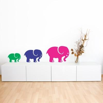 adesivo murale cameretta elefante