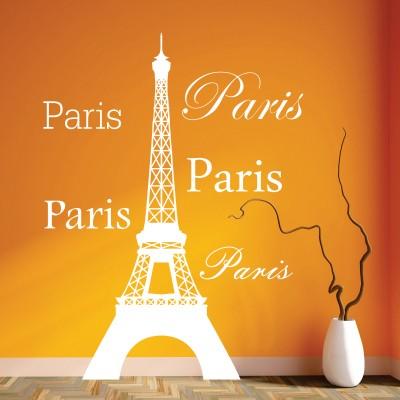 adesivo murale viaggi paris