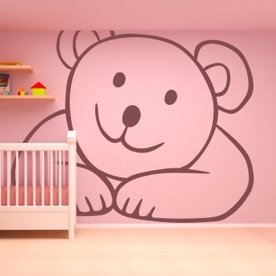 adesivo murale orsacchiotto