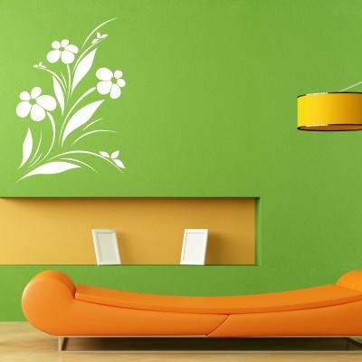 adesivo murale con fiori