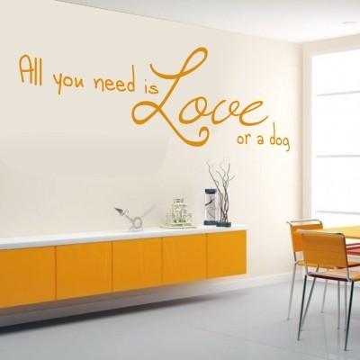 adesivo murale frasi casa