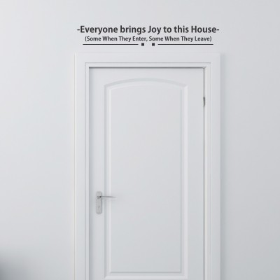 adesivo parete casa dolce casa