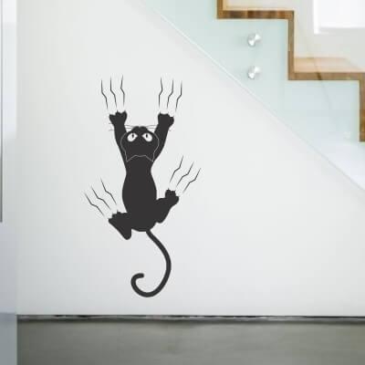 adesivi gatti muro