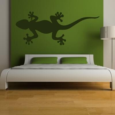 adesivo murale geco