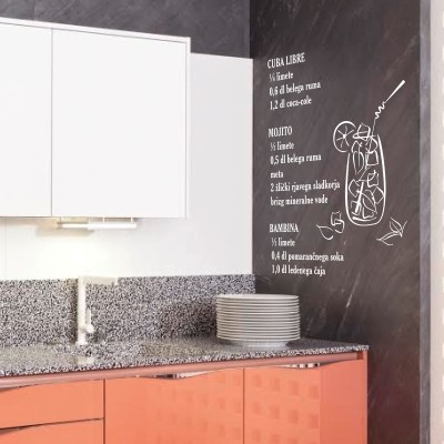 decorazione parete cucina