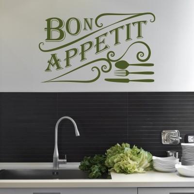 adesivi murali cucina frigorifero